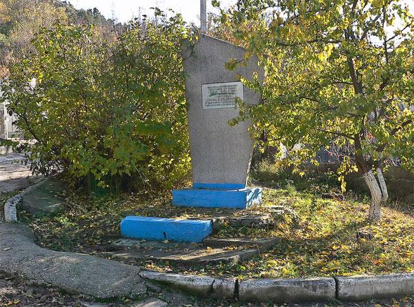 Улица Скорятина (Герой Советского Союза) в Инкермане