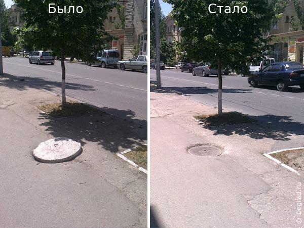 люк на ул. Гоголя. Севастополь