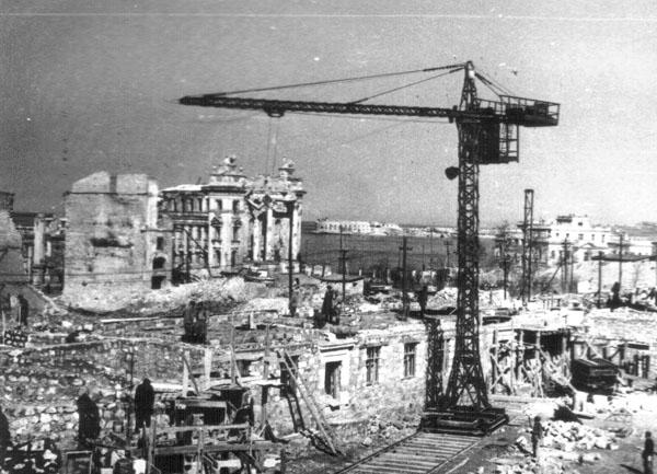 Восстановление Севастополя. Застройка проспекта Нахимова
