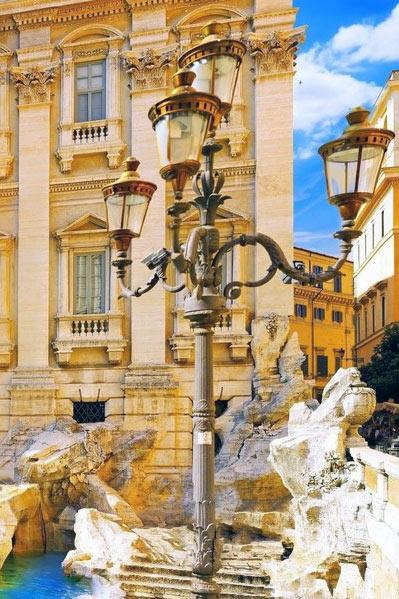 фонарь в Риме
