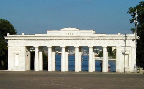 Графская пристань. Севастополь