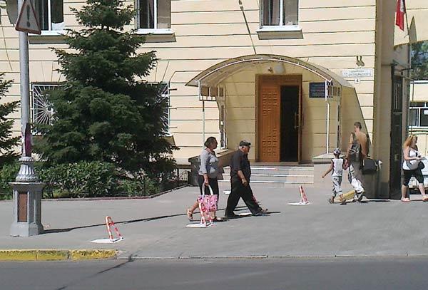блокираторы на ул. Адмирала Октябрьского