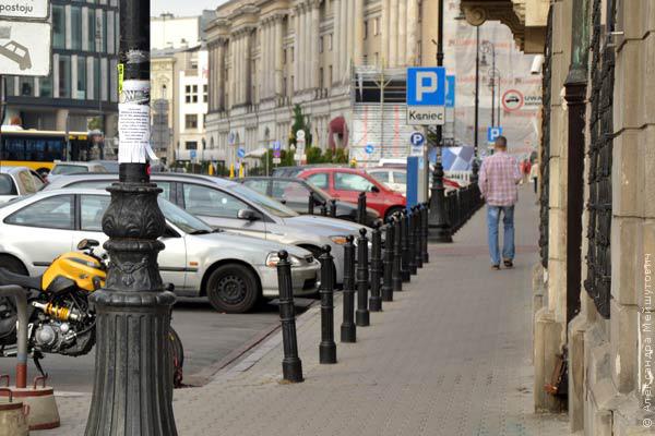 парковка Варшава