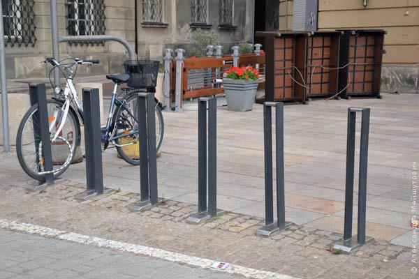 Держатели велосипедов