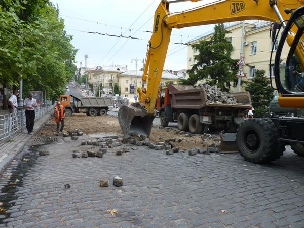 Ремонт ул. Адмирала Октябрьского