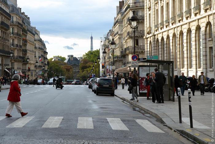 бордюр в Париже