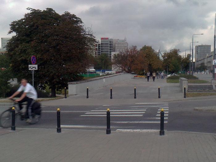 бордюр в Варшаве