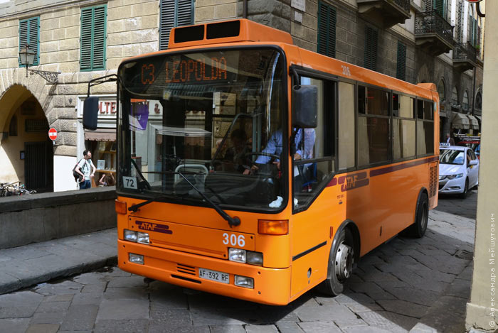 Флоренция автобус