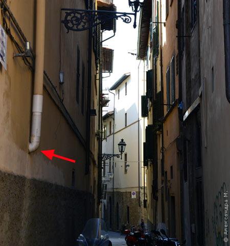 Водосток во Флоренции