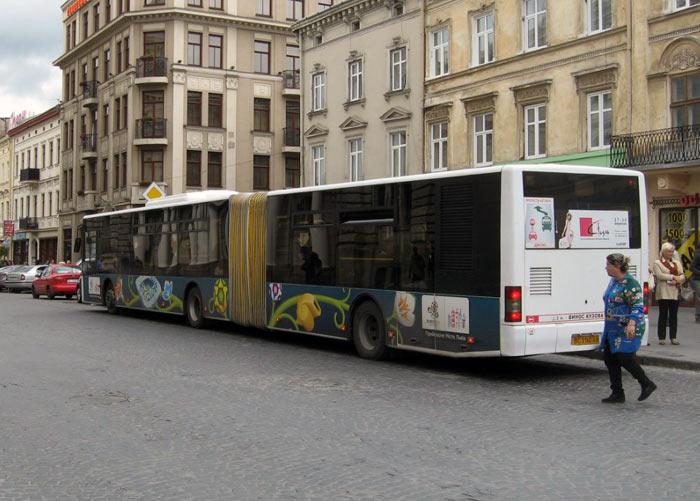 Львов автобус.