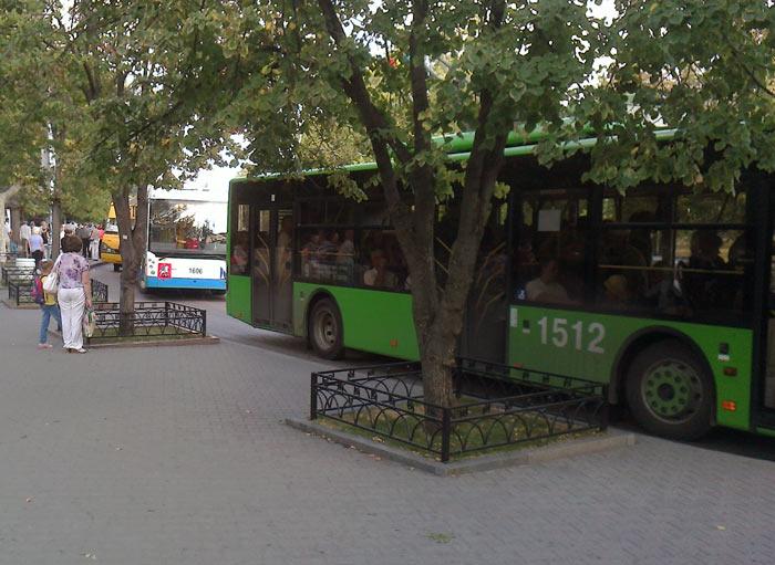 Троллейбус Севастополя