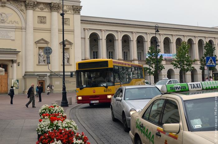 Варшава автобус.
