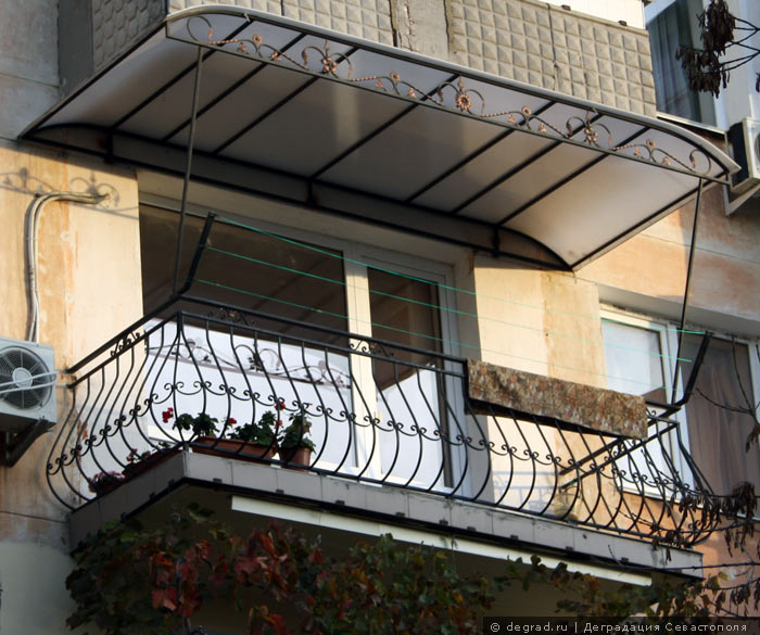 балкон в Любимовке