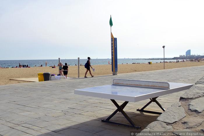 Пляжная инфраструктура Барселоны (19)