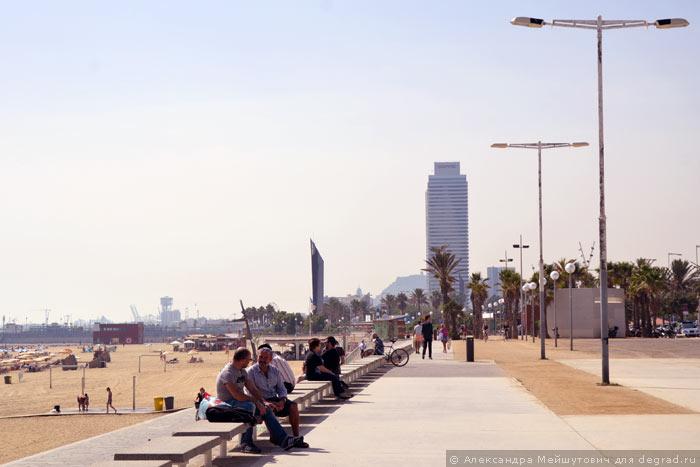 Пляжная инфраструктура Барселоны (17)