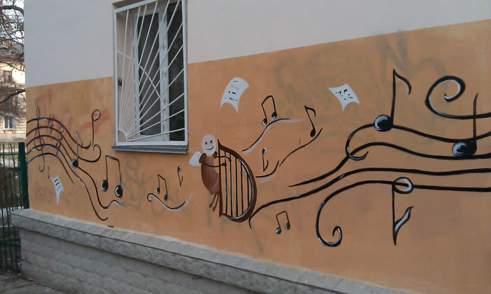 борьба музыкальной школы с графити (3)