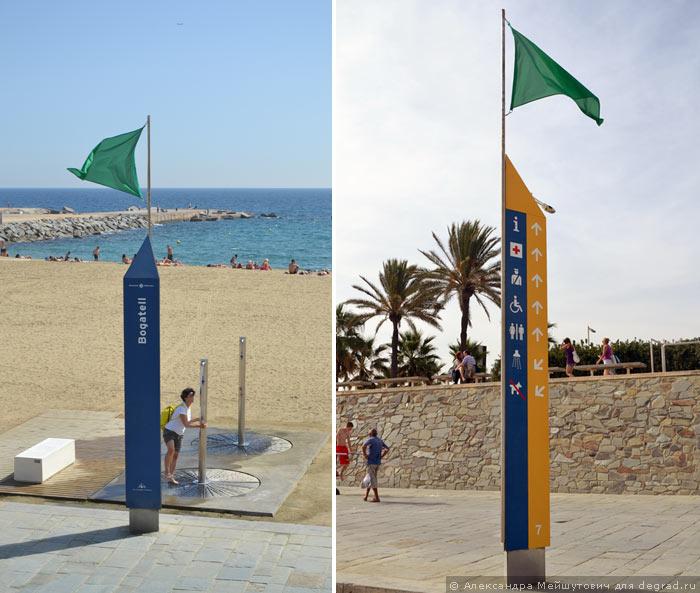 Пляжная инфраструктура Барселоны (18)