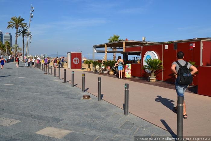 Пляжная инфраструктура Барселоны (11)