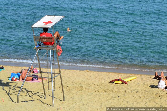 Пляжная инфраструктура Барселоны (10)