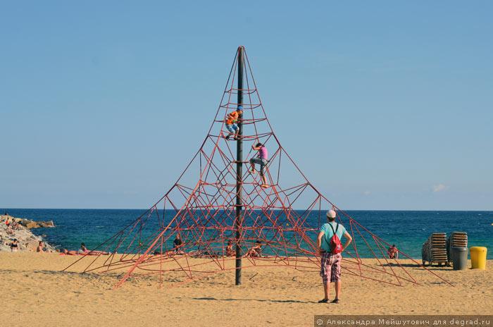 Пляжная инфраструктура Барселоны (4)