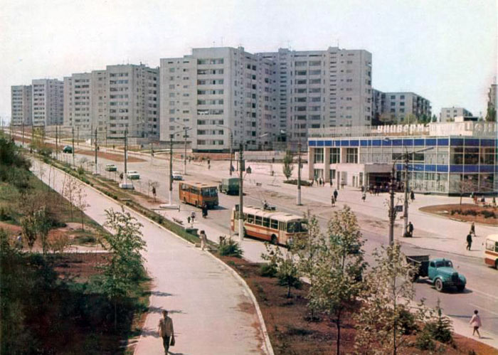 Площадь 50-летия в Севастополе до эпохи торгового безумия (5)
