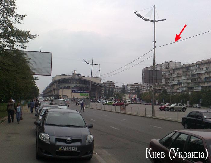 Фонари в Киеве