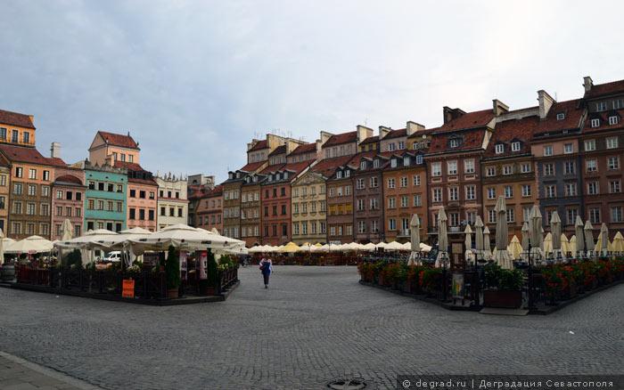 Рыночная площадь в Варшаве.