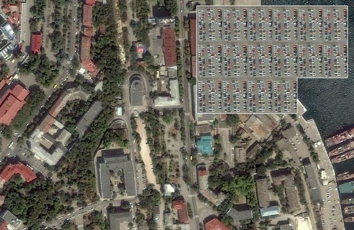 парковки в центре Севастополя (2)