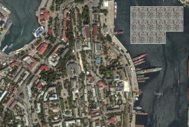 парковки в центре Севастополя (1)