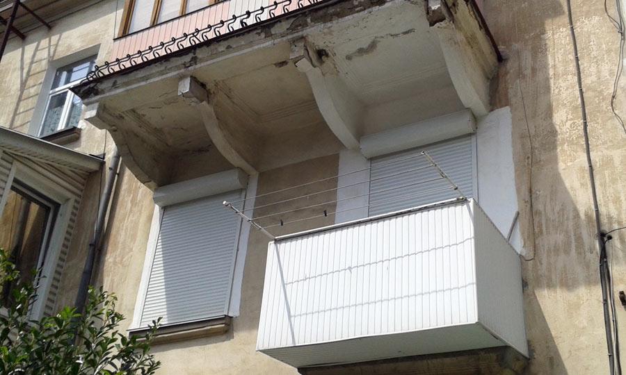 Контраст. два балкона - degrad.ru.